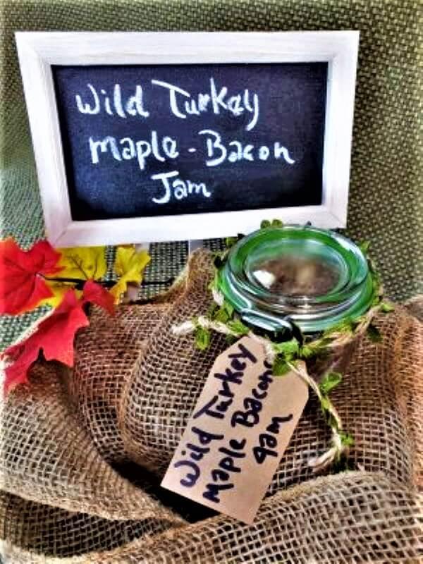wild turkey maple bacon onion jam