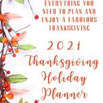 2021 thanksgiving holiday planner pdf