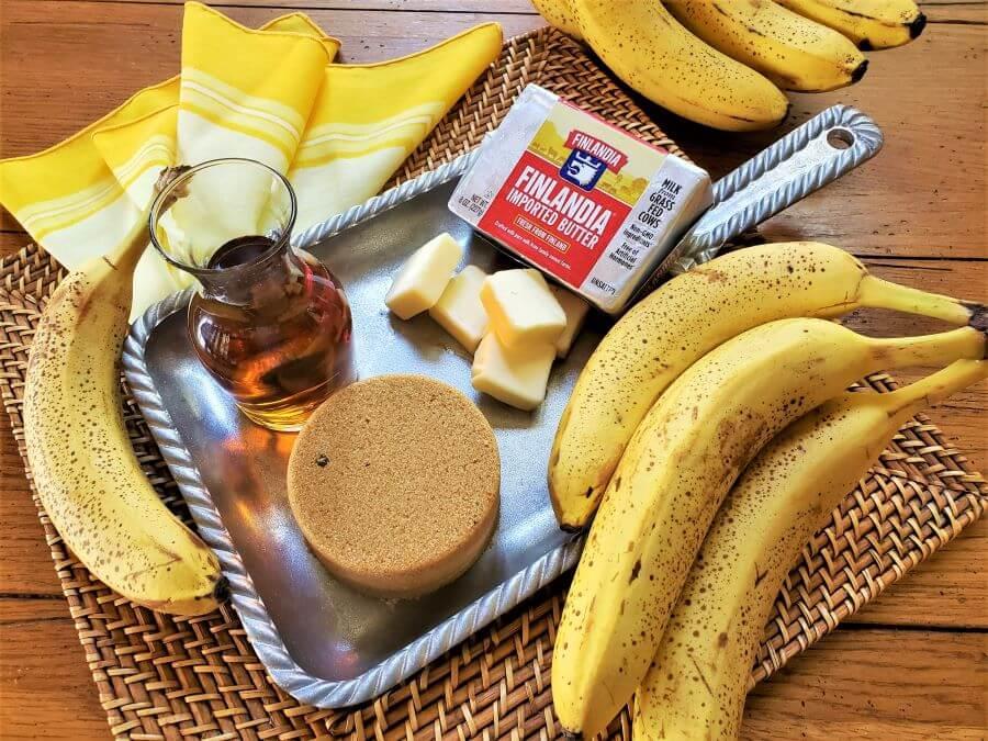 brandied bananas recipe ingredients