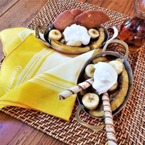 brandied bananas recipe