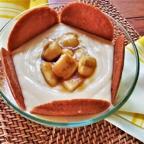 brandied banana pudding