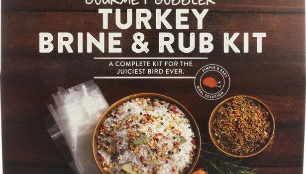 turkey brine and rub kit from urban accents
