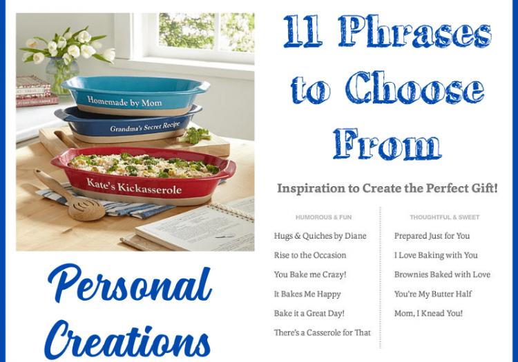 personalized casserole dishes for thanksgiving dinner preparation kitchen essentials
