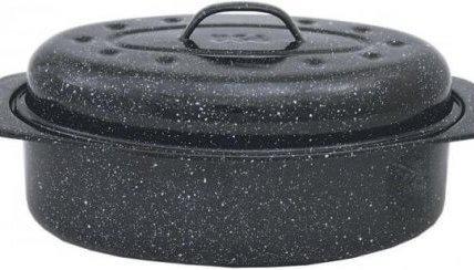 granateware roaster thanksgiving dinner preparation kitchen essentials