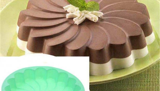 round flower silicone mold
