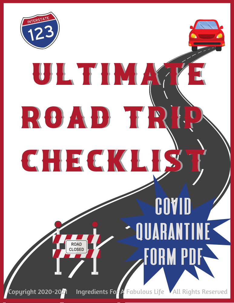 ultimate road trip checklist cover