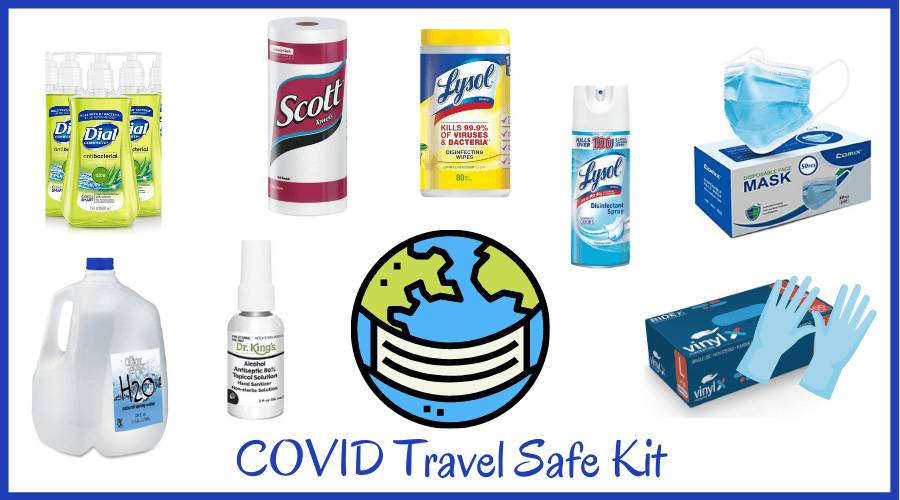 covid travel safe kit