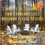 7 essential elements for fabulous fall outdoor living spaces