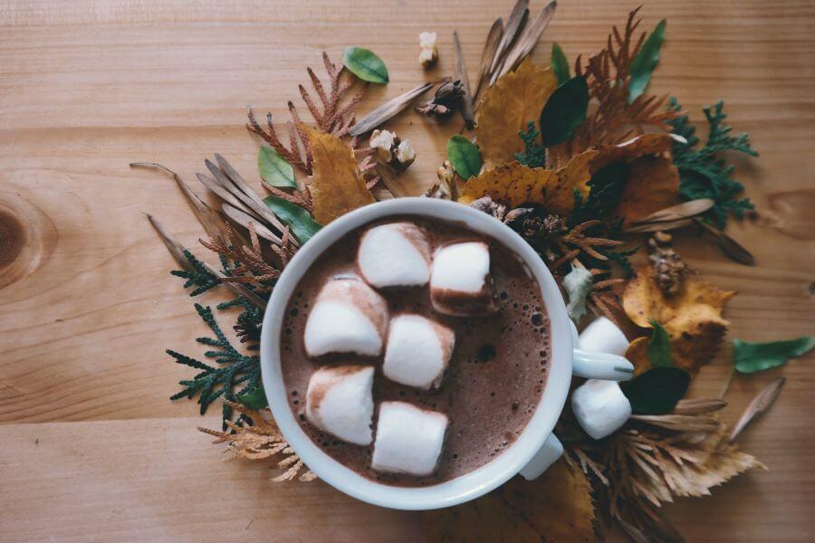 spirited hot cocoa