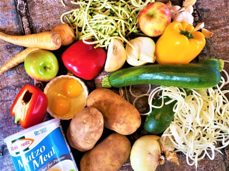 gourmet latkes ingredients