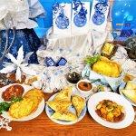 middle eastern hanukkah celebration feast