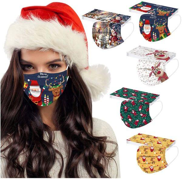 holiday open house face masks