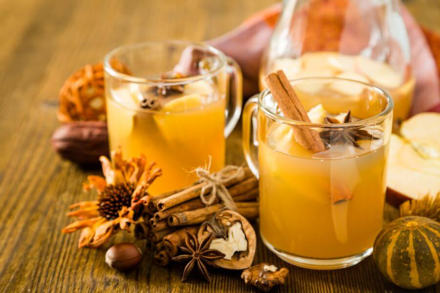 holiday open house hot mulled cider