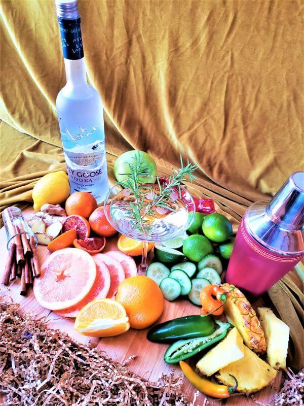 infused vodkas