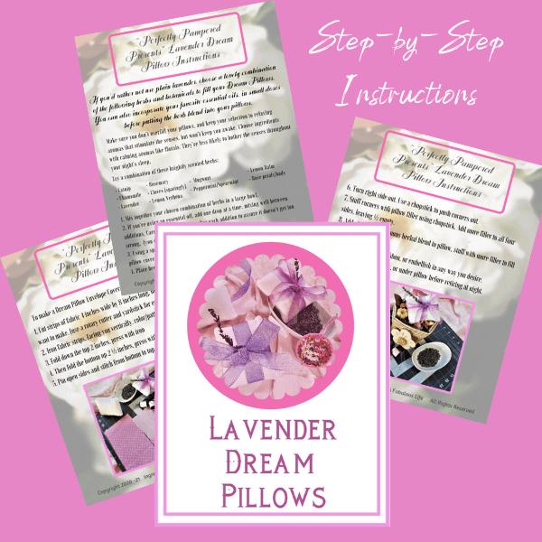 instruction pdf to make lavender dream pillows