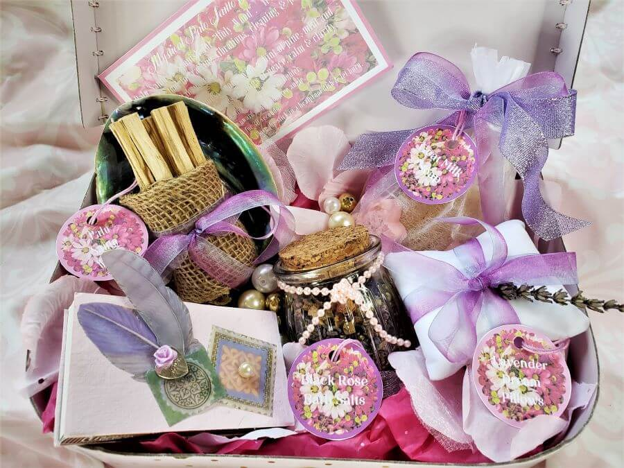 perfectly pampered presents gifts in basket