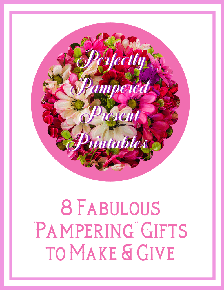 Perfectly Pampered Presents Stickers & Hang Tags