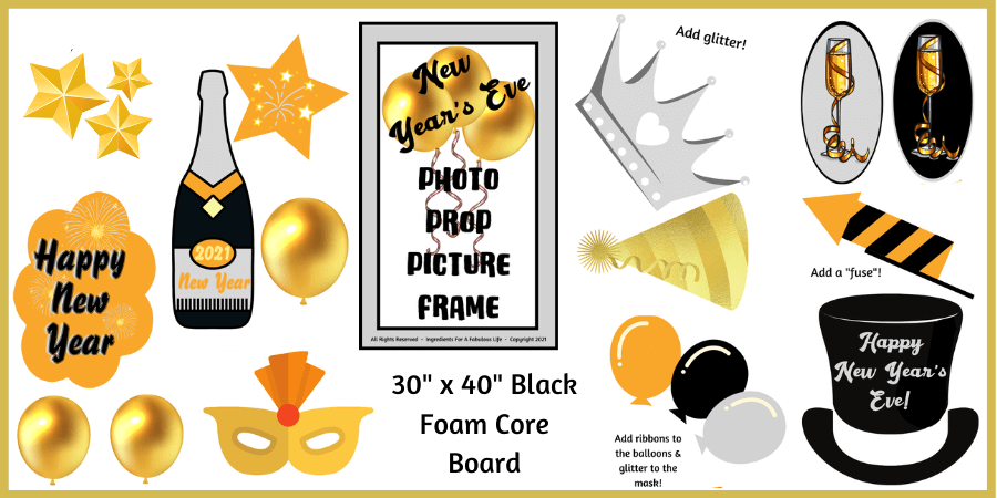 photo prop picture frame project