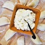 Polish cheese pierogi