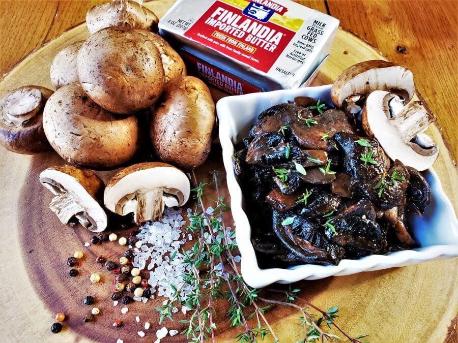 Polish mushroom thyme pierogi filling ingredients