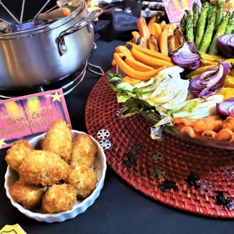 bagna cauda with roasted vegetables