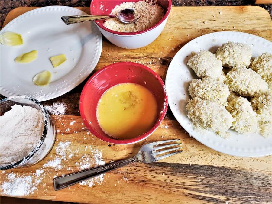 how to make deep fried artichoke hearts