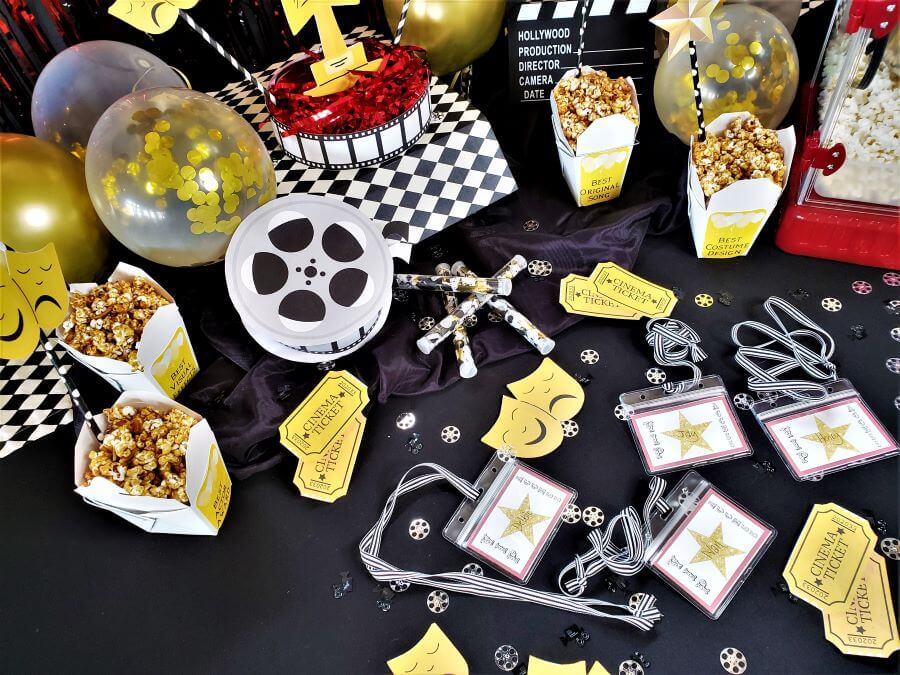 movie awards party printables