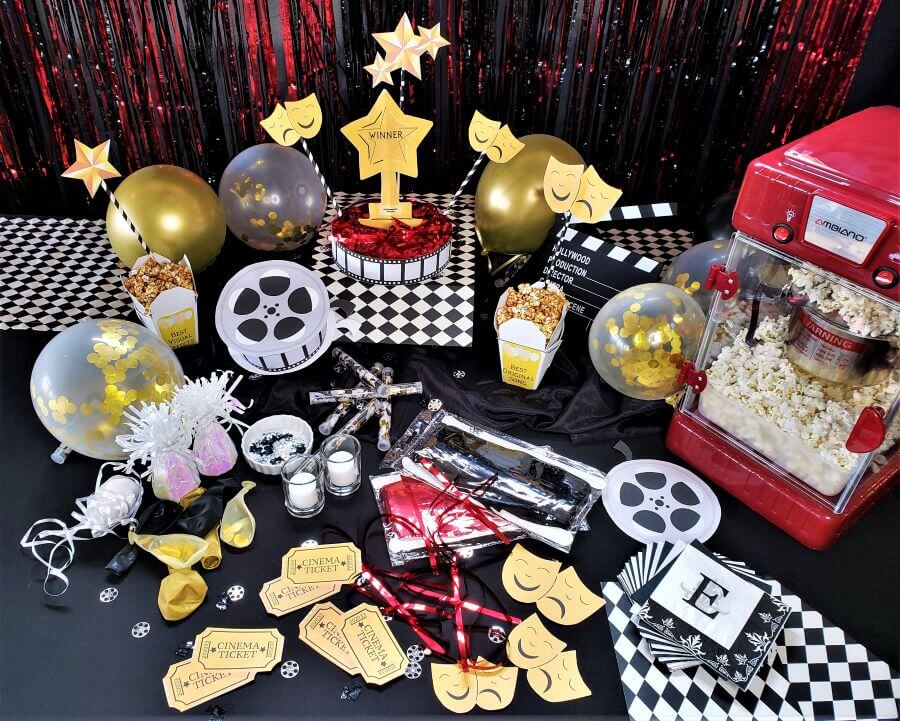 movie awards party printables