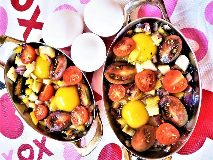 spanish baked eggs casserole