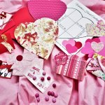 heart envelopes project and candy valentine's cards