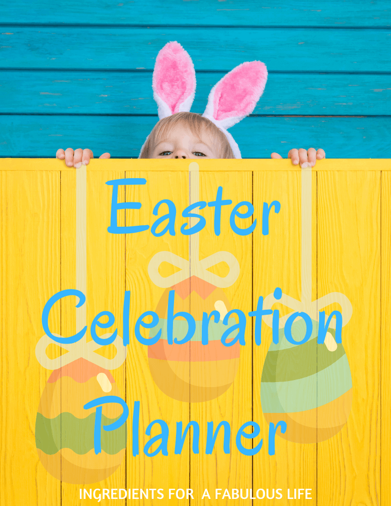 Easter celebration planner cover