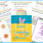 Easter celebration planner sample pages