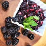 berry and white chocolate jam