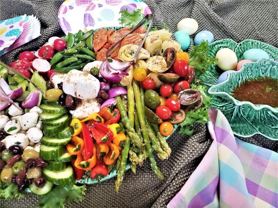 Easter brunch buffet