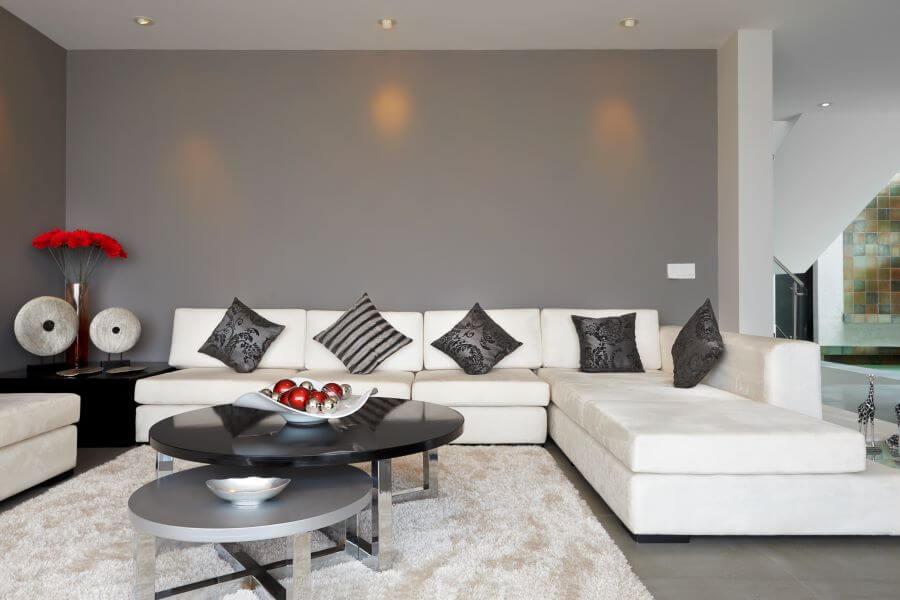 example of modern living room design