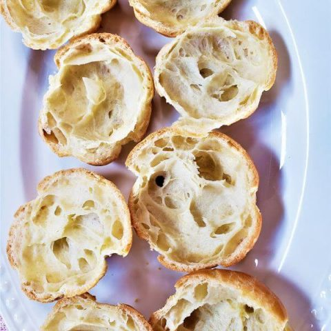 choux pastry puff
