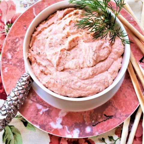 salmon dill mousse
