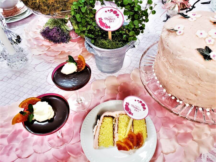 mother's day luncheon desserts