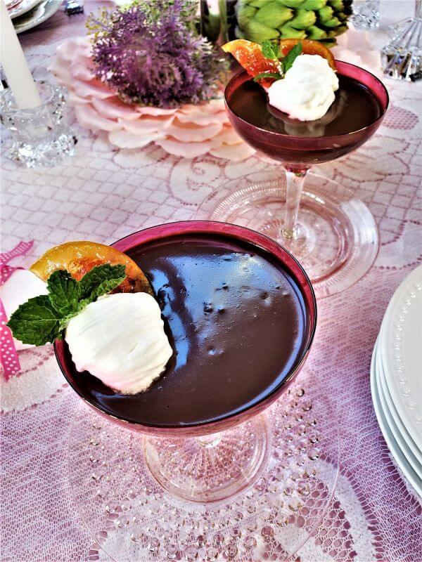 chocolate grand marnier pots de creme