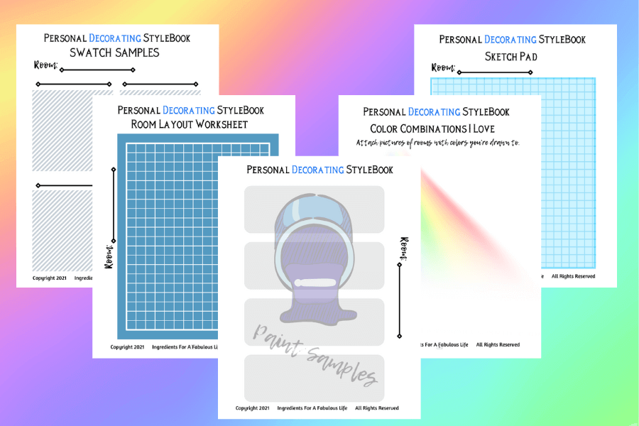 personal decorating color profile