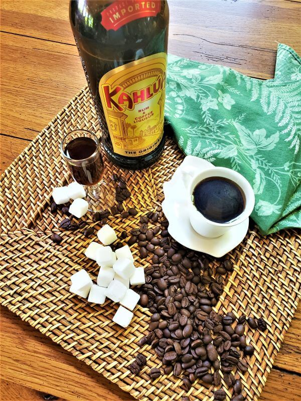 coffee syrup ingredients