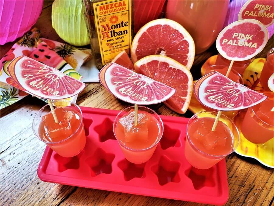 pink paloma jello shots