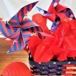 patriotic pinwheels