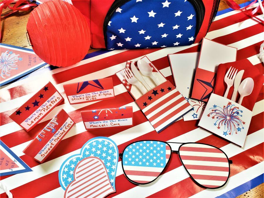 patriotic printables for 4th of July