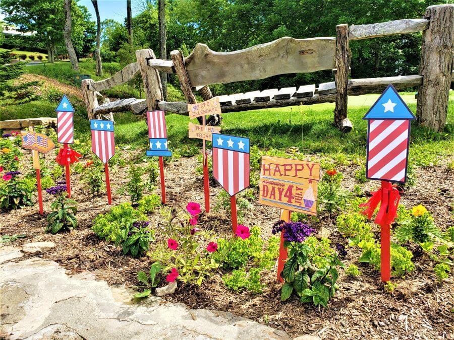 patriotic yard signs