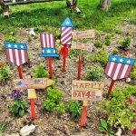 Patriotic Celebration Yard Signs