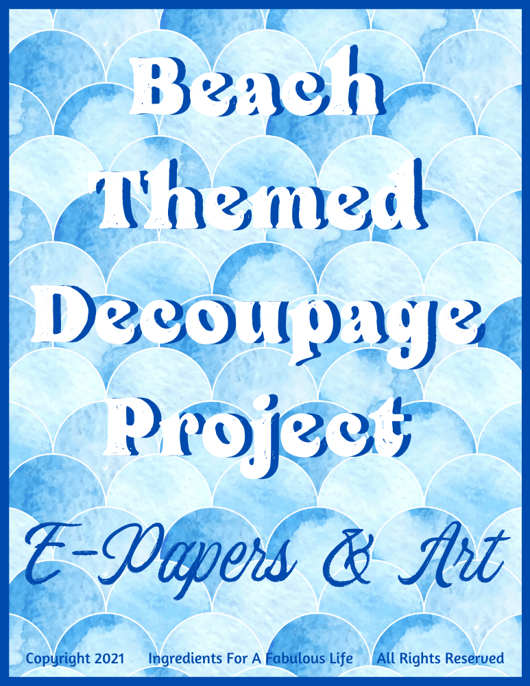 beginner's guide to decoupage