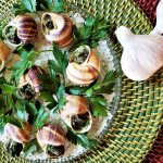 garlicy snails for two