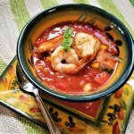 seared seafood gazpacho