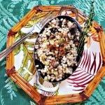 mushroom Israeli couscous pilaf